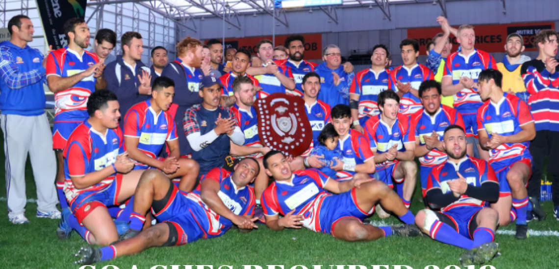 COACHES REQUIRED 2019